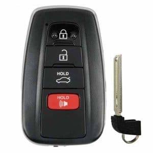 2018-2020 Toyota Camry / 4-Button Smart Key / HYQ14FBC / 0351 (RSK-TOY-CMR19)