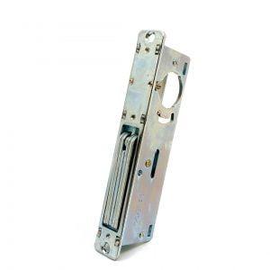 """Kenaurd Narrow-Stile 1-1/8"""" DeadBolt Lock Body - w/ 2 Faceplates"""