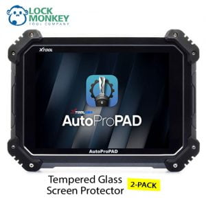 AutoProPAD Lite Tempered Glass Screen Protector 2 Pack