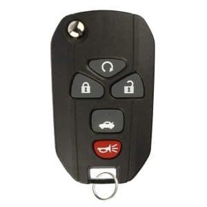 2004-2012 GM / 5-Button Flip Key / PN: 3521A-T04A / KOBGT04A (RK-G-524-FLIP)