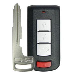 2008-2020 Mitsubishi Lancer / 4-Button Smart Key / PN: 8637B885 / OUC644M-KEY-N (RSK-MIT-644M-4)