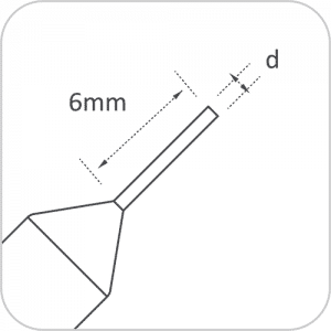 RAISE 1mm Tracer Point for Triton
