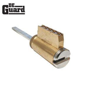 DeGuard High Security - (Key-In-Knob) KIK Cylinder - 206 Keyway - 26D - Satin Chrome