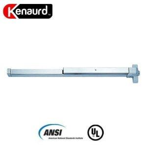 """Kenaurd Heavy Duty Panic Bar - Exit Device - Grade 1 - Aluminum Finish - 33"""""""