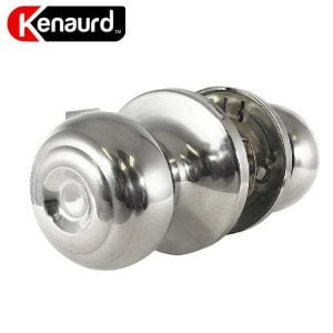 Premium Knobset Entry Lock - Passage - 32D- Bright Chrome
