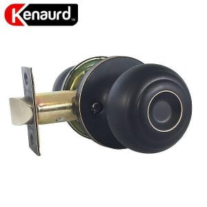 Kenaurd Premium Knobset - Passage - ORB - Oil Rubbed Bronze