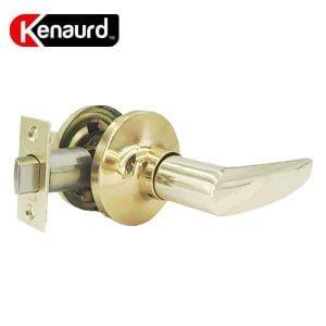 Kenaurd Premium Design #2 Passage Leverset – Grade 3 – Polished Brass Finish