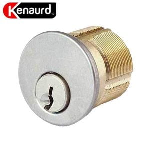 "Kenaurd Premium Mortise Cylinder - 1-1/2"" - 26D - Satin Chrome - SC1"