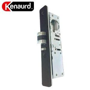 "Kenaurd Narrow-Stile - Latch Lock Body - Deadlatch - 31/32""- with 2 Faceplates & EZ Reverse"