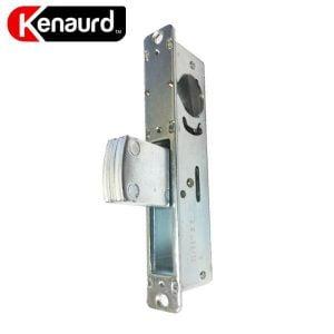 """Kenaurd Narrow-Stile 1-1/2"""" DeadBolt Lock Body w/ 2 Faceplates"""