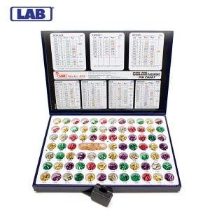 LAB Mini Rekeying Pin Kit .005