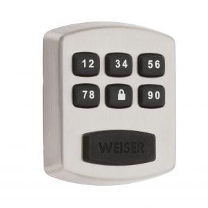 Weiser Powerbolt 1 Electronic Lock - Satin Nickel