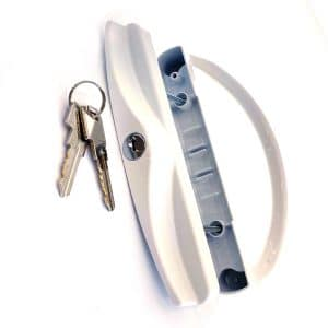 KeyDirect Patio Lock W/ Mortise and Key