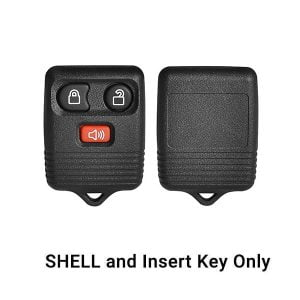 1999-2013 Ford / 3-Button Keyless Entry Remote SHELL for CWTWB1U331