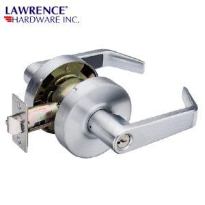 LAWRENCE HARDWARE 5300 SERIES - Entrance / US32D LEVER LOCKSET / LH5304