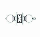 LAWRENCE HARDWARE 5300 SERIES - Entrance / US32D Ball Knob / Door Knob / LH5304B