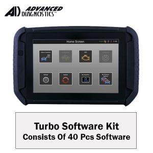 Advanced Diagnostics - ADS2801 Smart Pro Turbo Software Kit / Consist of 40pcs Software