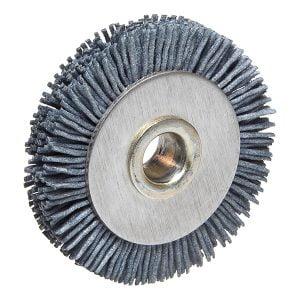 """2.17"""" Diameter Nylon Key Machine Deburring Brush / 812-00-51 (008B)"""