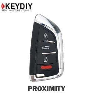 KEYDIY Knife Style 4-Button Universal Smart Key w/ Proximity Function (KD-ZB02-4)