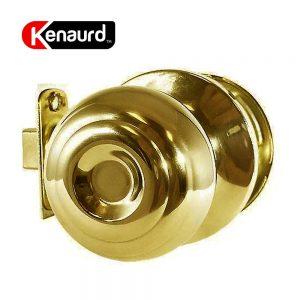 Premium Knobset Entry Lock – Passage – PB- Polished Brass