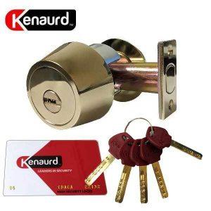 Kanaurd High Security - Deadbolt - US3 - Bright Brass - Grade 1