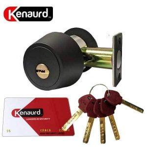 Kenaurd - High Security Deadbolt - 10B - Oil Rubbed Bronze - Grade 1
