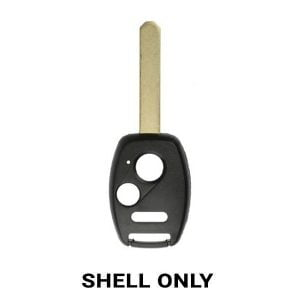 Honda 2006-2013 / 3-Button Remote Head Key Shell WITHOUT Chip Holder (RHS-HON-1060-3)