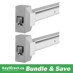 BUNDLE OF 2 / 8000 SERIES Push Bar Exit Device / GRADE 2