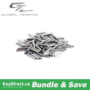 100 x Roll Pins - 1.6 x 8.0 mm for Flip Key Remotes (Bundle of 100) (GTL)