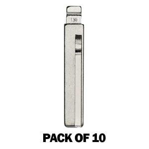 (Pack of 10) KEYDIY Key Blade - Hyundai / Kia HY18R (#130)