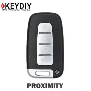 KEYDIY KIA / Hyundai Style 4-Button Universal Smart Key w/ Proximity Function (KD-ZB04-4)