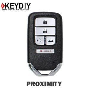 KEYDIY Honda Style 5-Button Universal Smart Key w/ Proximity Function (KD-ZB10-5)