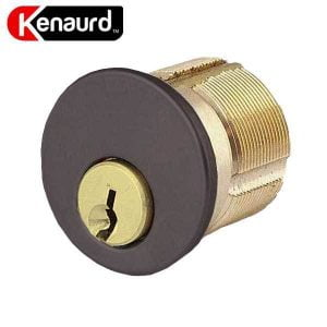 "Premium Mortise Cylinder - 1"" - 10B - Oil Rubbed Bronze / Black - (SC1 / KW1)"