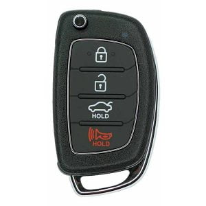 2015-2017 Hyundai Sonata / 4-Button Flip Key / PN: 954430-C1010 / TQ8-RKE-4F16 (RFK-HY-4F16-AFTER)