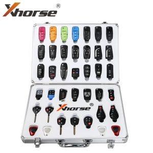 Xhorse Universal Remote Key Set w/ Aluminum Case for VVDI Programming Tool