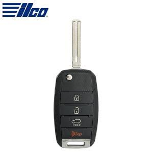 ILCO Look-Alike™ 2014-2016 Kia Sportage / 4-Button Flip Key / 46 Chip/ NYODD4TX1306-TFL (FLIP-KIA-4B4)