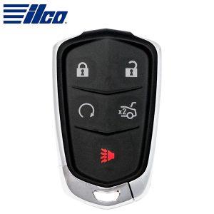 ILCO Look-Alike™ 2014-2019 Cadillac ATS CTS XTS / 5-Button Key Smart Key / PN: 13580811 / HYQ2AB  (PRX-CAD-5B3)