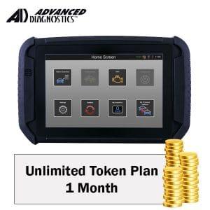 Advanced Diagnostics - 1 Month Unlimited Token Plan (UTPSUB1MO)