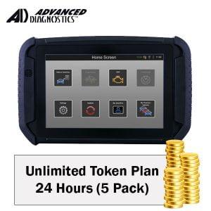 Advanced Diagnostics - Unlimited Token Plan - 24 Hours (5 Pack) (UTP24HRSX5)