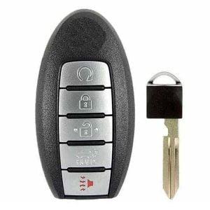 2015-2018 Nissan Pathfinder / Murano / 5-Button Smart Key / KR5S180144014 / IC 204 (RSK-NIS-204-5)