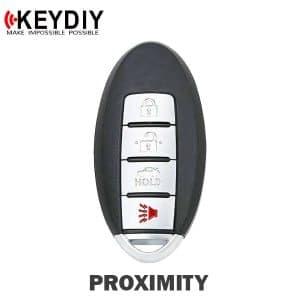 KEYDIY Nissan Infiniti Style 4-Button Universal Smart Key w/ Proximity Function (KD-ZB03-4)