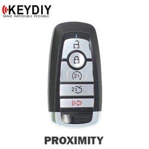 KEYDIY Ford Style 5-Button Universal Smart Key w/ Proximity Function (KD-ZB21-5)