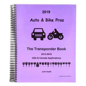 Josh Heath Auto & Bike Transponder Book - Volume 2 / Years 2013- 2019