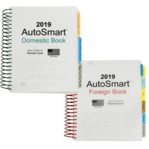 AutoSmart 2019 by Michael Hyde-Foreign/Domestic SET Spiral Book