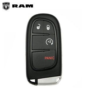 2013-2018 Dodge Ram / 4-Button Smart Key / PN: 56046956AA / GQ4-54T (Refurbished)