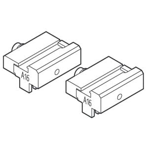 A16 Adapters For Clamping BMW / Land Rover 2 Track Keys / HU92 HUF / D727645ZB (Matrix, Twister II)