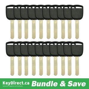 Bundle of 20 / Honda HO01 Transponder Key (K-HO01)