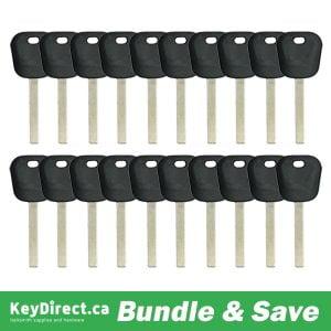 BUNDLE OF 20 / GM B119 Transponder Key (K-B119)