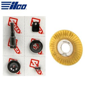 ILCO - Flat Steel Cutter Conversion Kit For Flash 008 or Flash Mobile / Flat Steel Keys / Converts to .76mm / D748249ZB