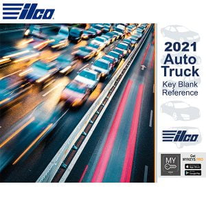 ILCO *NEW* 2021 Auto Truck Key Blank Reference Book - FREE OF CHARGE